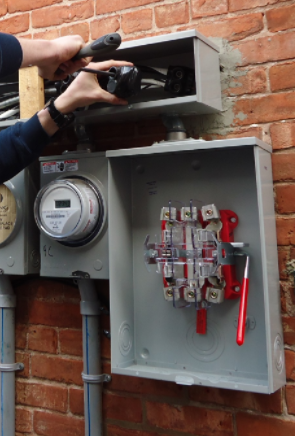 Fuse box Commercial Electricians Buffalo NY